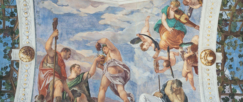 affreschi di Paolo Veronese a Villa Barbaro