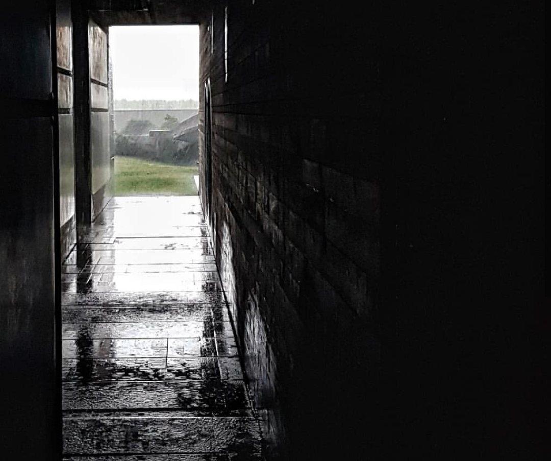 Tomba Brion _ il corridoio dei Propilei