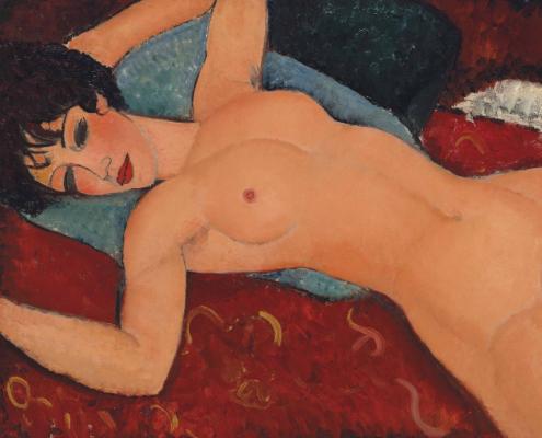Modigliani, nudo